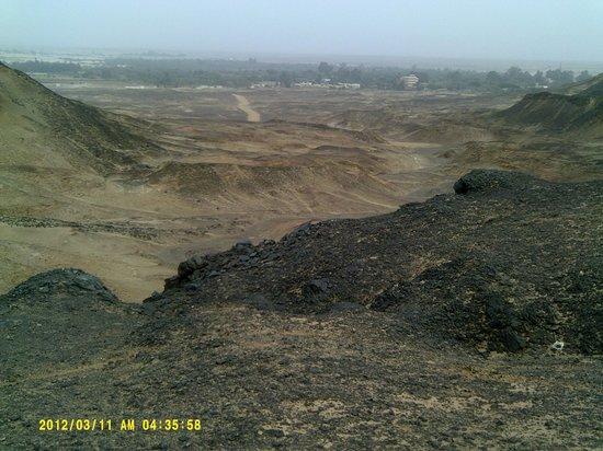 Black Desert : view from Jebel El Inglish/English Mt