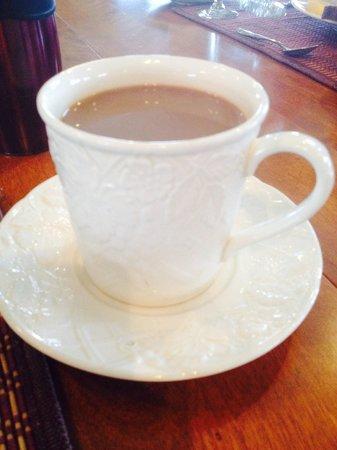 Chateau Chantal Winery and Inn: Coffee