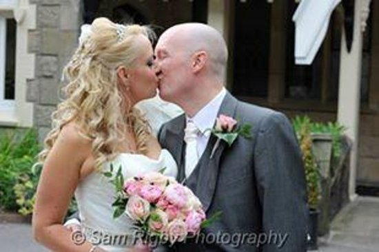 West Tower Country House Hotel: mr & mrs C!