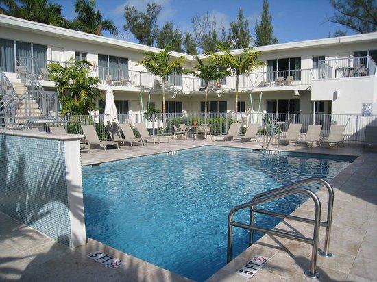 Tranquilo: The beautiful courtyard pool