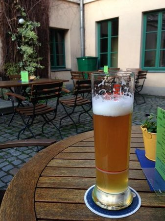 Restaurant brennNessel: local beer and patio