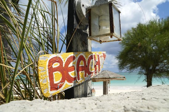 Greenwood Beach Resort: plage