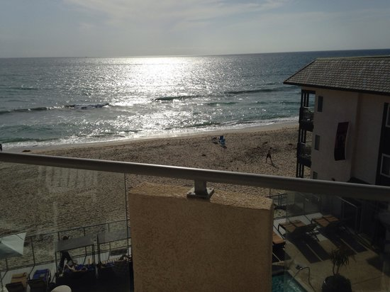 Beach Terrace Inn: Corner room Ocean View
