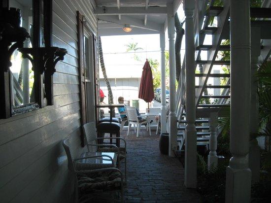 Speakeasy Inn: Side of Building-First Floor