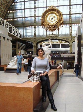 Musée d'Orsay : o lindo relógio da antiga estação