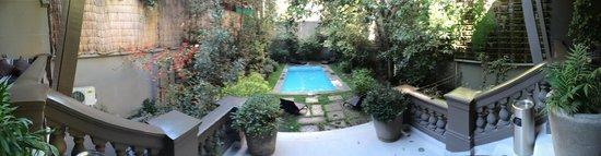 Lastarria Boutique Hotel: piscina