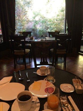 Lastarria Boutique Hotel: comedor