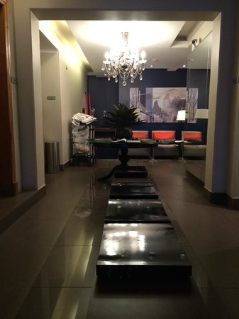 Lastarria Boutique Hotel: lobby