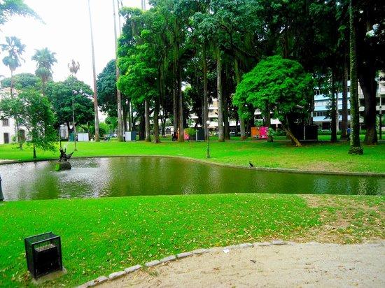Museu da República: laguinho