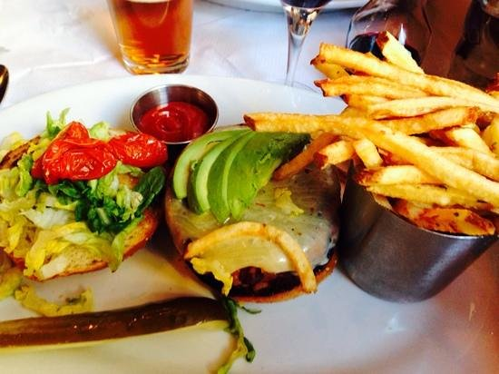 Brooklyn Diner : veggie burger