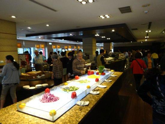 Leofoo Hotel Taipei: 朝食レストラン2F