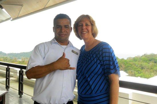 La Luna Restaurant at Gaia Hotel & Reserve: Friendly staff