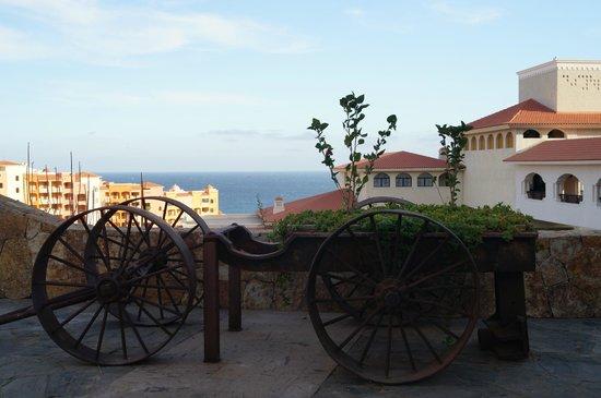 Sandos Finisterra Los Cabos : Vista desde fuera del restaurante Don Diego al Pacifico