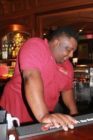 Sandals Montego Bay: My favorite bartender, Andrew!
