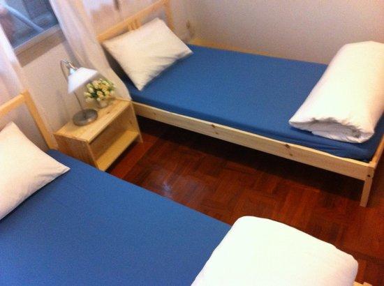 Rang Kha Mhin Home stay at Khao san,Bangkok: twin beds room