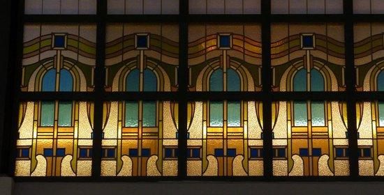 Four Seasons Hotel Gresham Palace: Stained-glass windows at Four Seasons - Budapest