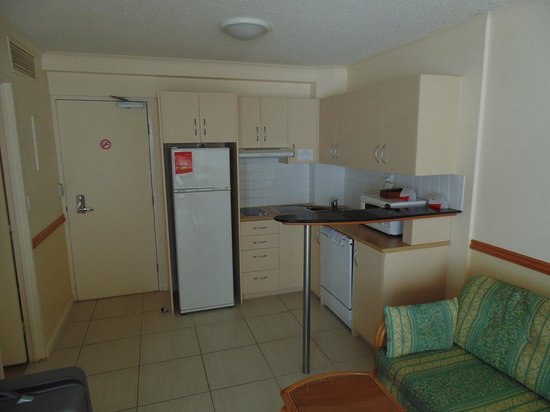 Breakfree Alexandra Beach Premier Resort: Very pleasant to look at until you open cupboards