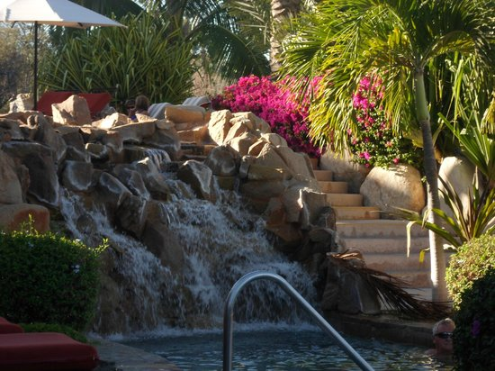 Hacienda del Mar Los Cabos : Waterfall at pool