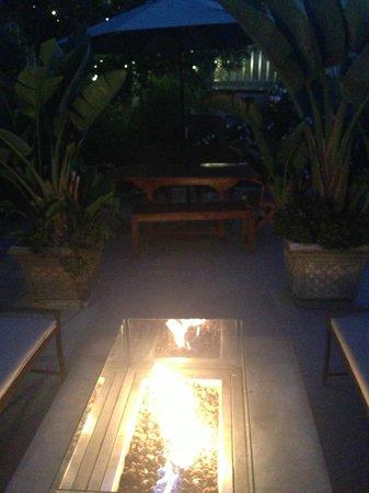 Pier View Suites : Hotel garden lounge