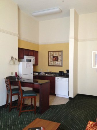 Residence Inn by Marriott Fort Worth Cultural District: Kitchen area
