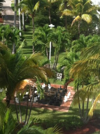 Grand Lucayan, Bahamas: cool chess/checkers area