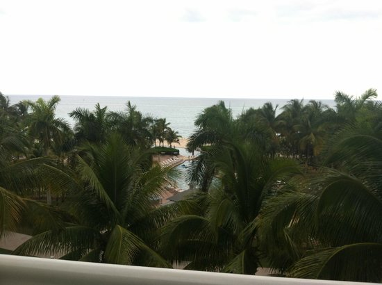 Grand Lucayan, Bahamas: view from my room