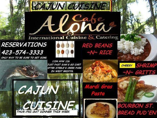 Cafe Alona: INTERNATIONAL CUISINE FOR FIRST WEEK OF APRIL