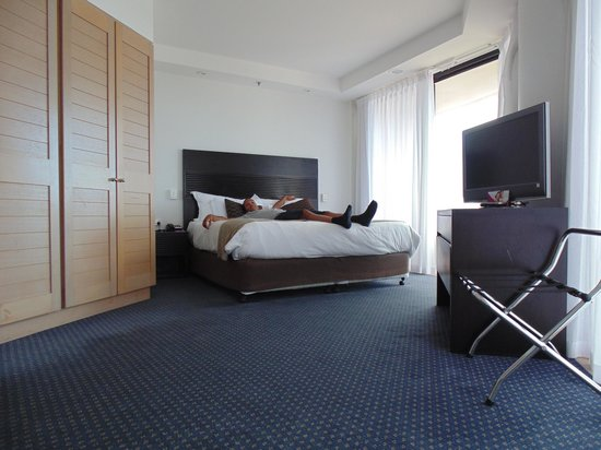 Crowne Plaza Surfers Paradise: Very relaxing bed