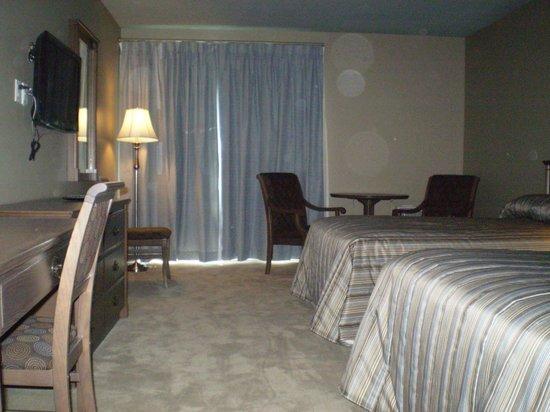 Hotel Motel Le Gite Inc.: chambre avec 2 lits double