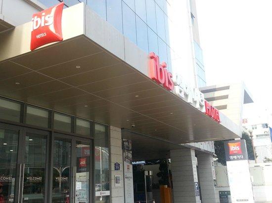 ibis Ambassador Busan City Centre : 外観