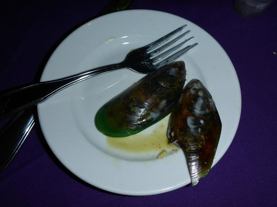 BananaKeet Cafe: Green Lipped New Zealand Mussels