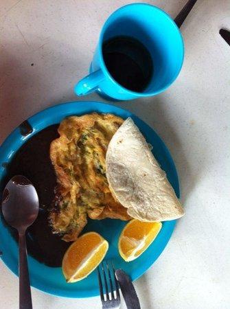 Casa del Sol: Desayuno