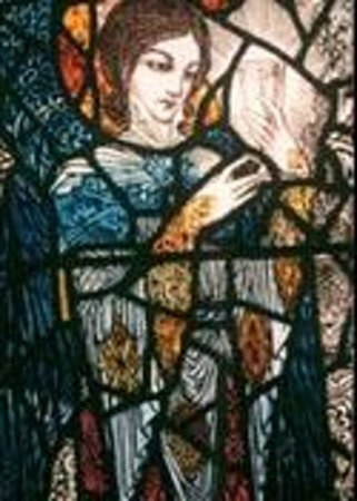 Harry Clarke Stained Glass Windows: Agony in the Garden