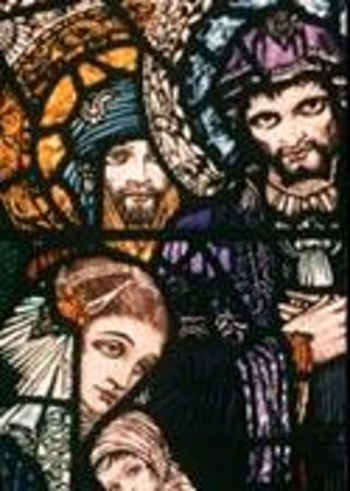 Harry Clarke Stained Glass Windows: Let the Little Children Come unto Me