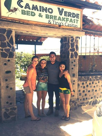 Camino Verde Bed & Breakfast Monteverde: Andres is the Best!