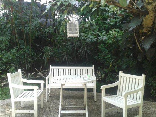 The Papandayan: Taman di Area Air Terjun Mini