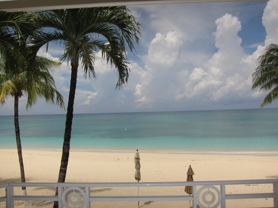 The Cayman Club: Photo taken while standing on the porch outside the master bedroom