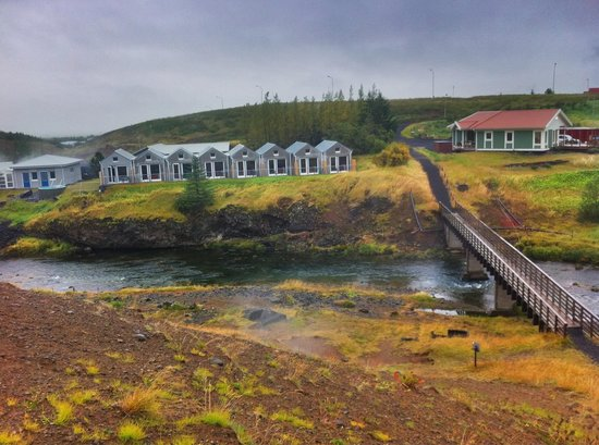 Frost and Fire Hotel: Very beautiful free nature hiking route starts hear hotel uphill to the hot spring area.