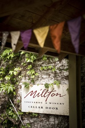 Millton Vineyards & Winery: Millton Cellar Door Entrance