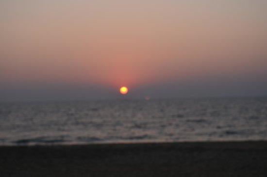 Cherai Beach Residency: The sunset
