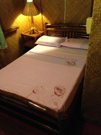 Sampaguita Resort : Cama matrimonio.