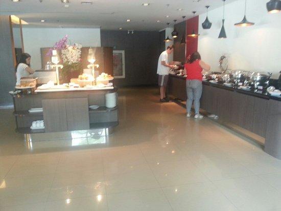 ibis Bangkok Riverside : Frühstücksbuffet