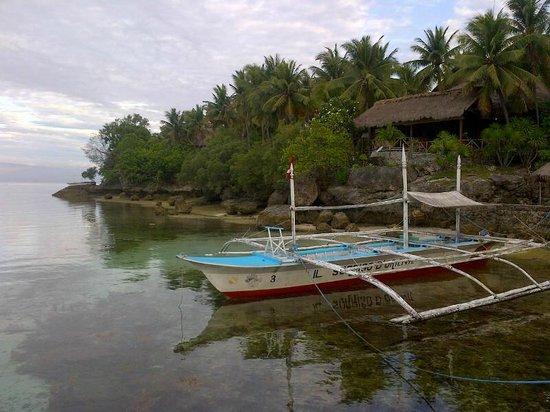 Sampaguita Resort: Embarcadero.