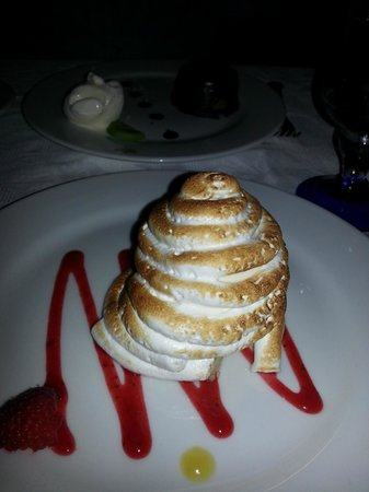 Hotel Riu Palace Paradise Island: Steakhouse dessert