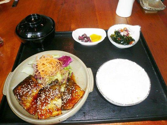 The Hashi: さば照り焼き定食