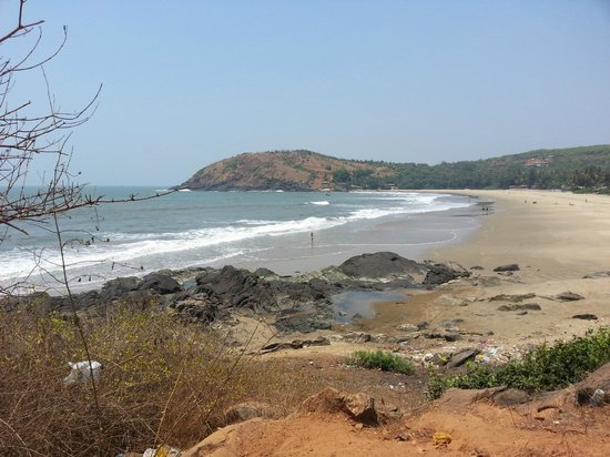 Arya Ayurvedic Panchakarma Centre Gokarna : View on the way to 'Om Beach'