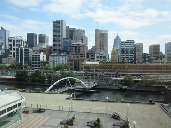 The Langham, Melbourne: view from 12th floor
