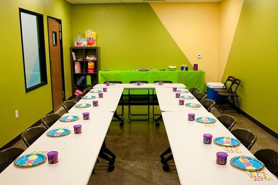 Sender One Climbing: Party room available for any birthday party packages