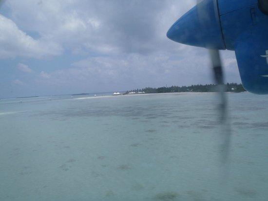 Cinnamon Hakuraa Huraa Maldives: Arrival by seaplane