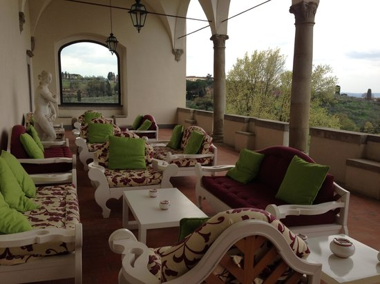 """Villa Tolomei Hotel and Resort : My """"Capuccino with view"""" spot"""
